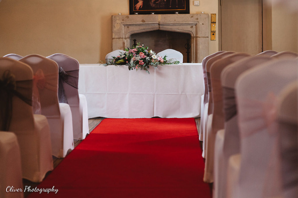 ceremony room at talbot oundle