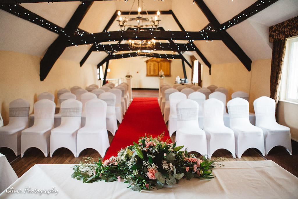 ceremony room at talbot