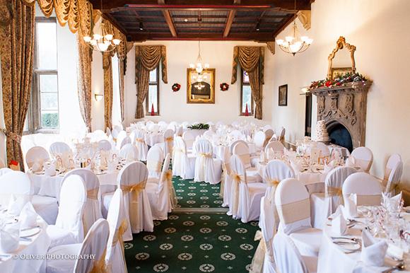 wedding Orton Hall