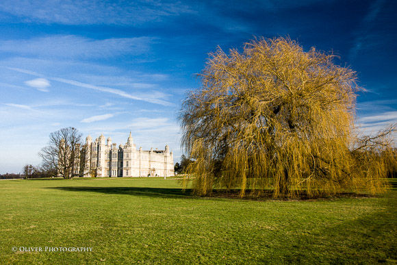 wedding photographer Burghley House