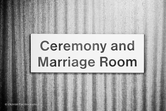 Ceremony and marriage room in Peterborough Register Office