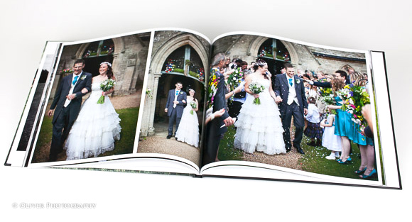 wedding photographer photo books
