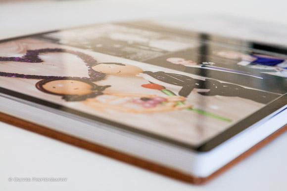 wedding album and photo books