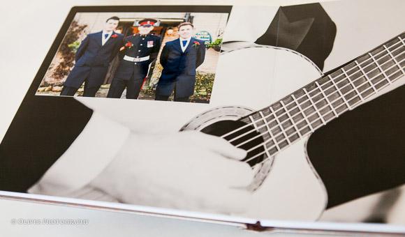 wedding albums Peterborough wedding photographers