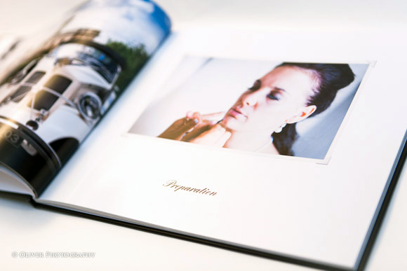 wedding books by Peterborough wedding photographer
