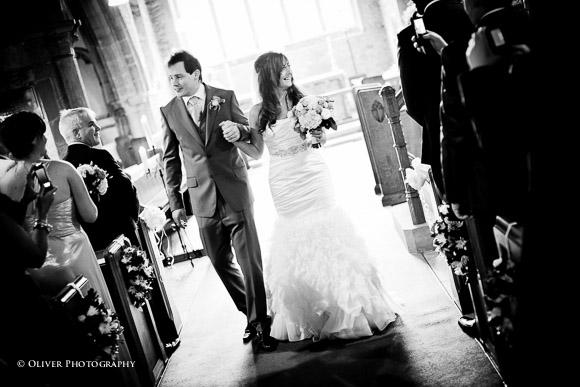 wedding photography at Holy Trinity Church