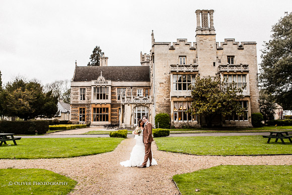 wedding photography at Orton Hall Peterborough