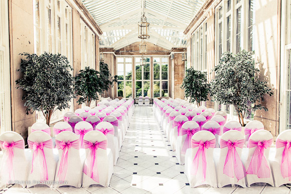 Wedding at Stoke Rochford Hall marriage ceremony
