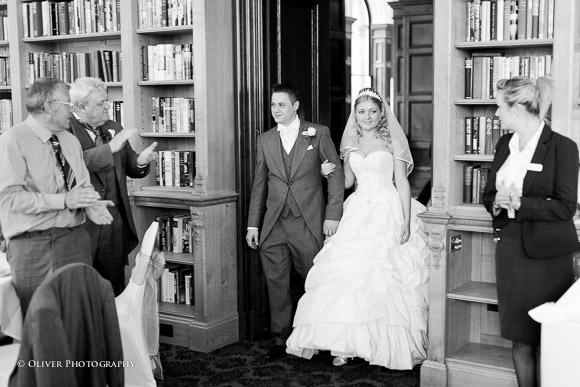 Stoke Rochford Hall wedding photographer