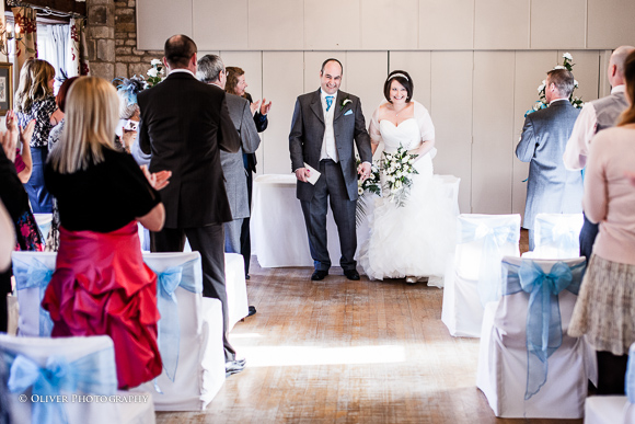 wedding ceremony at Toft Country House Hotel