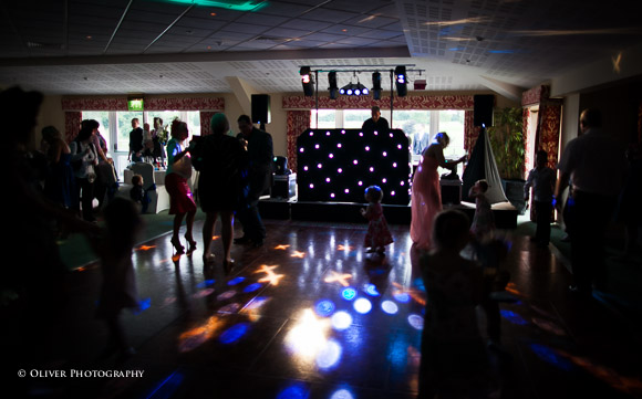 evening disco weddings