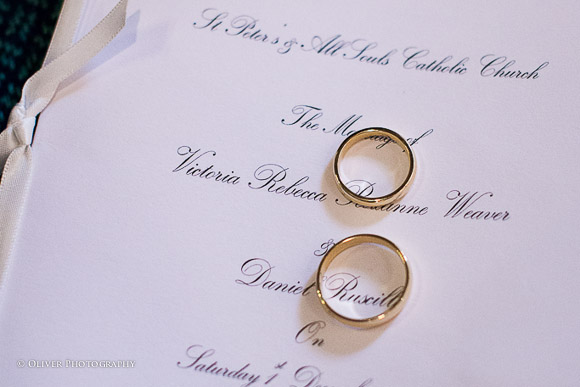 photographer wedding rings