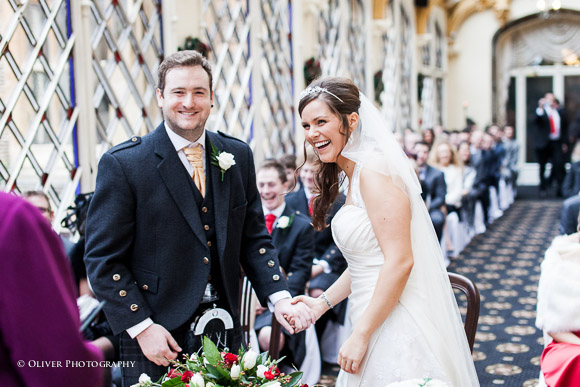 wedding at Orton Hall Hotel Peterborough