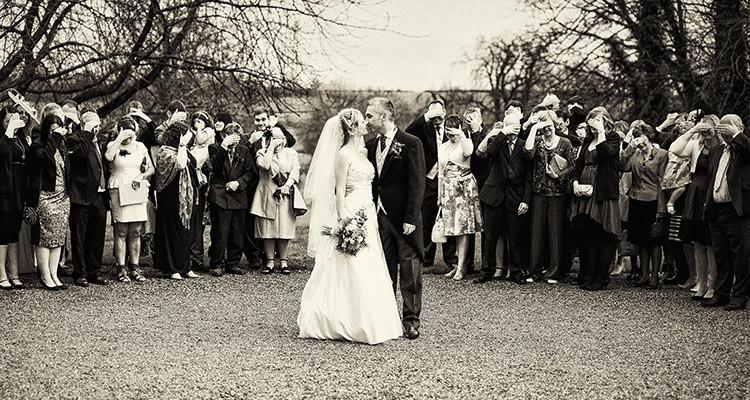 Wedding at Wadenhoe House