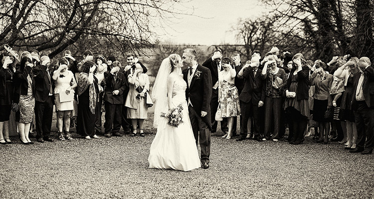 Wedding at Wadenhoe House