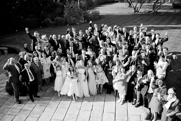 wedding group shoot
