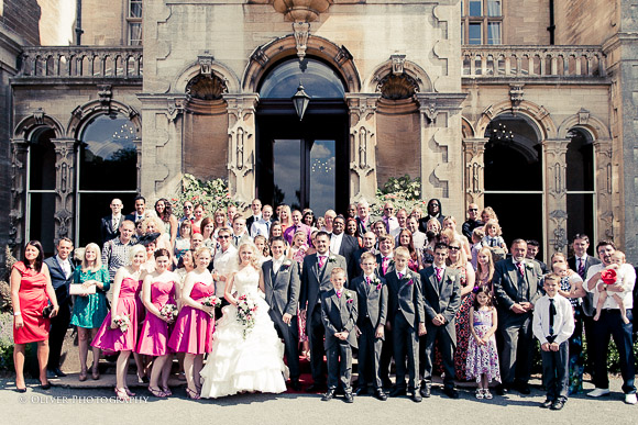 Stoke Rochford Hall wedding photography