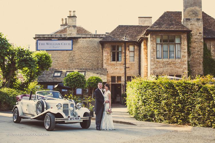 wedding at William Cecil Stamford