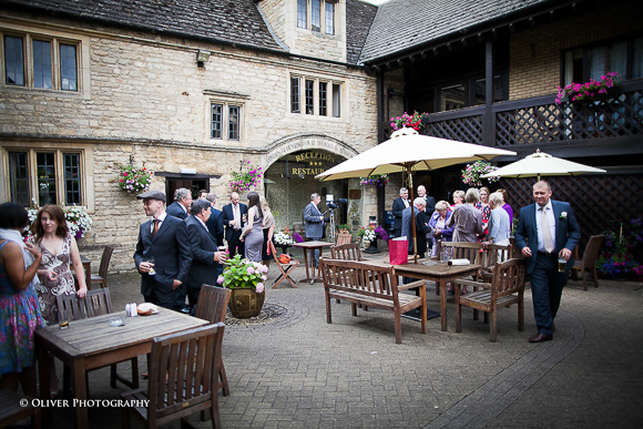 wedding at The Bell Inn