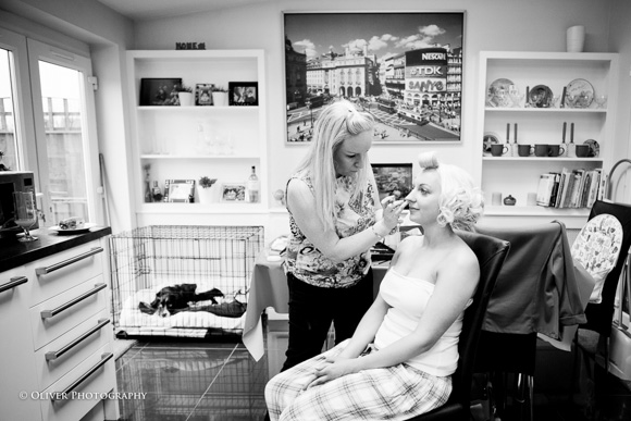 professional hairdresser who specialises in wedding
