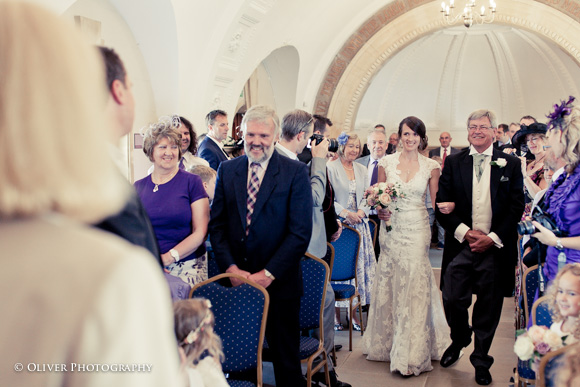 Normanton Church marriage ceremony