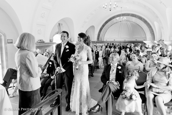Normanton Church ceremony