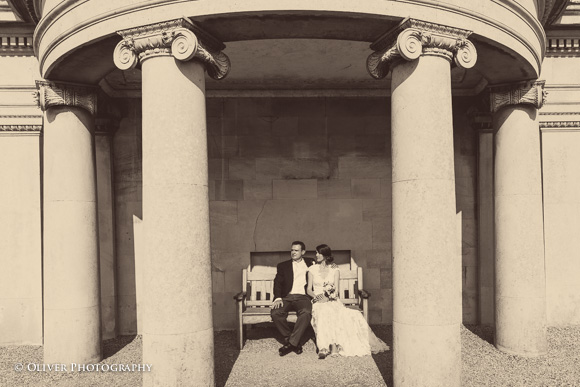 wedding Normanton Church