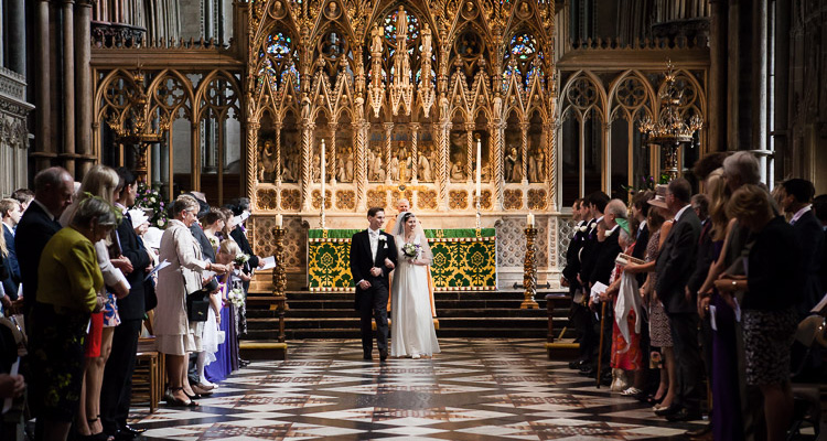 Wedding at the Ely Cathedral 2014