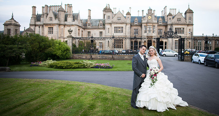 Wedding at Stoke Rochford Hall