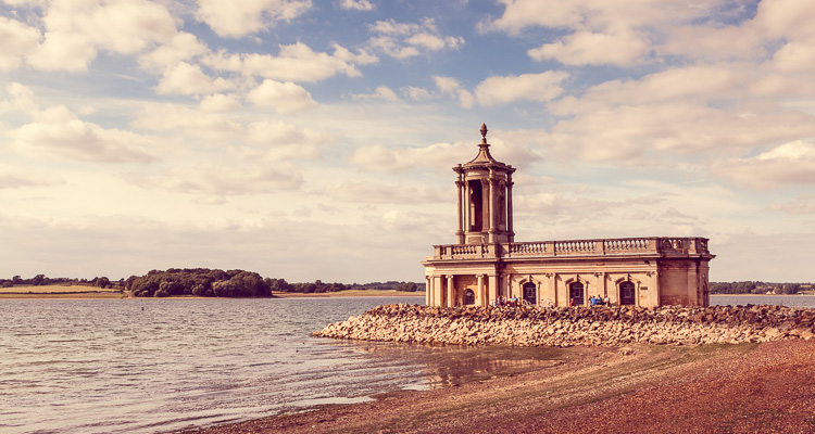 Marriage Ceremony at Normanton Church Rutland