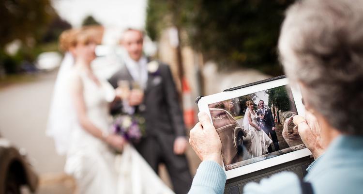 The term unplugged wedding