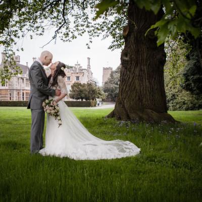 Orton Hall Hotel Peterborough wedding photographer