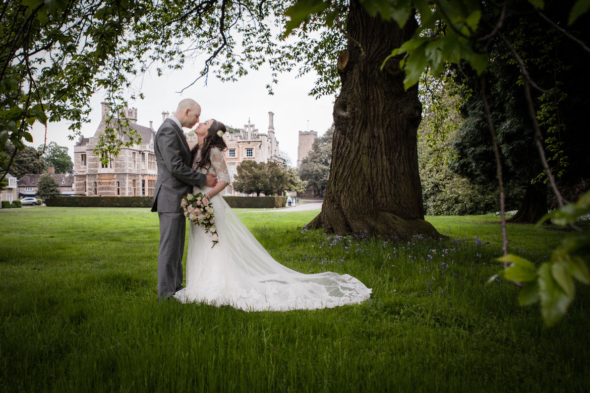 Orton Hall Hotel Peterborough wedding photographer