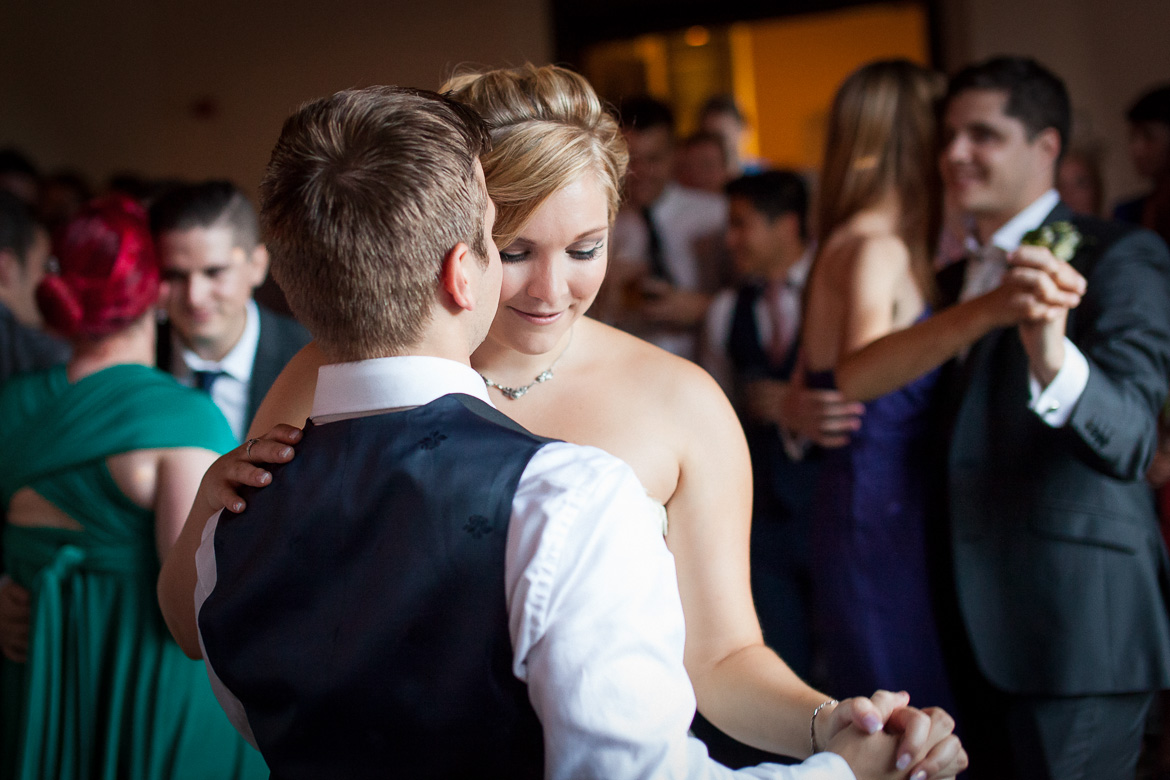 the first dance at Orton Hall