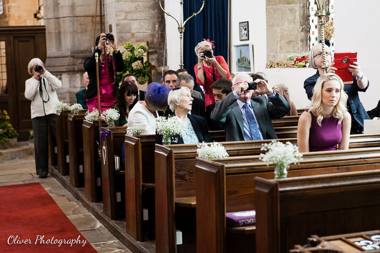 wedding photographs ruined by your guests