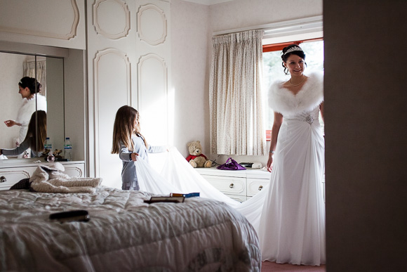 wedding Queens Head Riverside Inn 021
