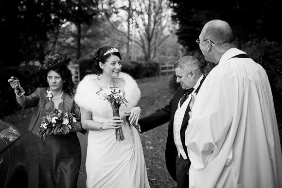 wedding Queens Head Riverside Inn 026