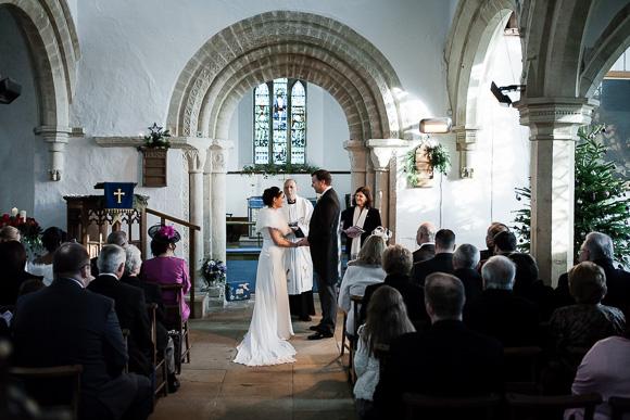 wedding Queens Head Riverside Inn 033