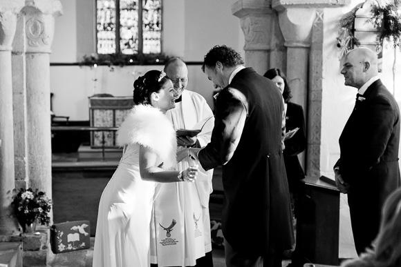 wedding Queens Head Riverside Inn 035