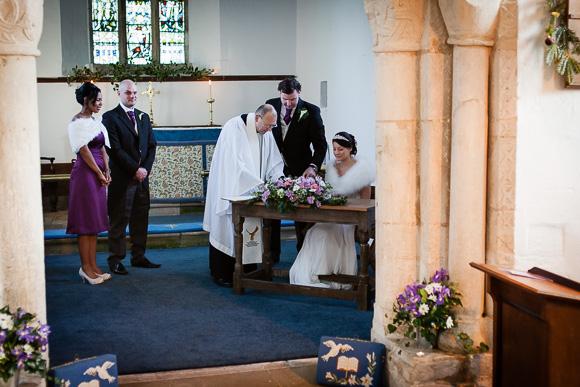 wedding Queens Head Riverside Inn 036