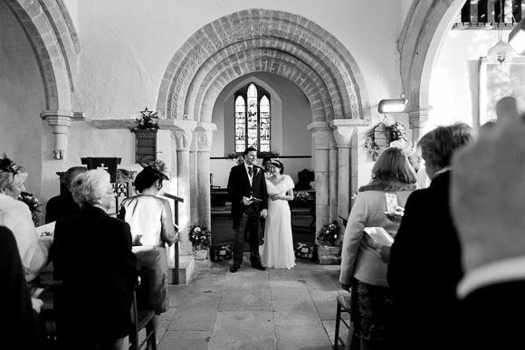 wedding Queens Head Riverside Inn 038