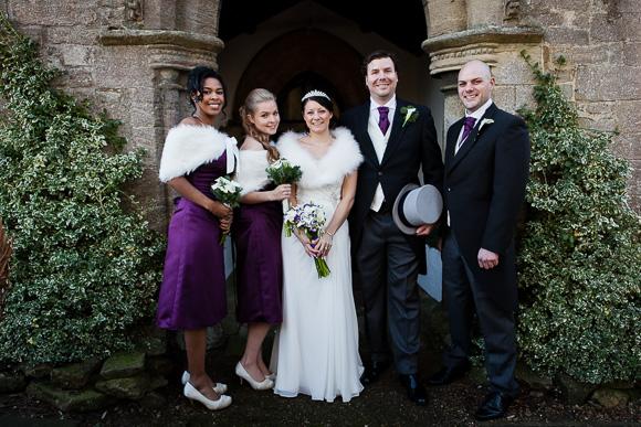 wedding Queens Head Riverside Inn 043