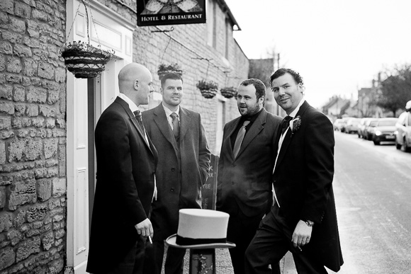 wedding Queens Head Riverside Inn 055