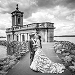 contemporary wedding photographs