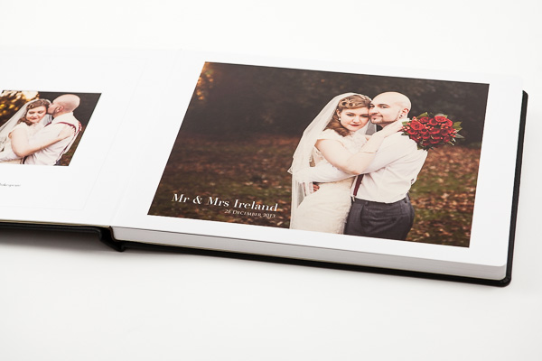 elegant wedding albums
