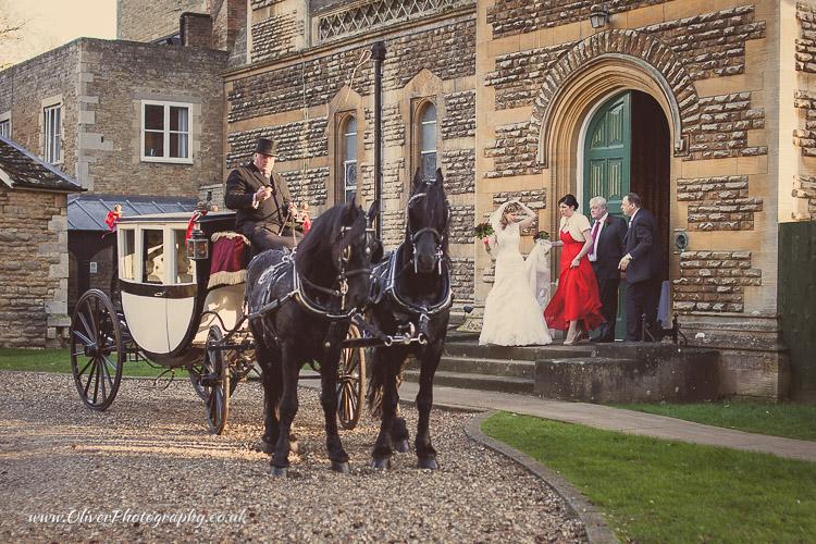 Orton Hall wedding photography