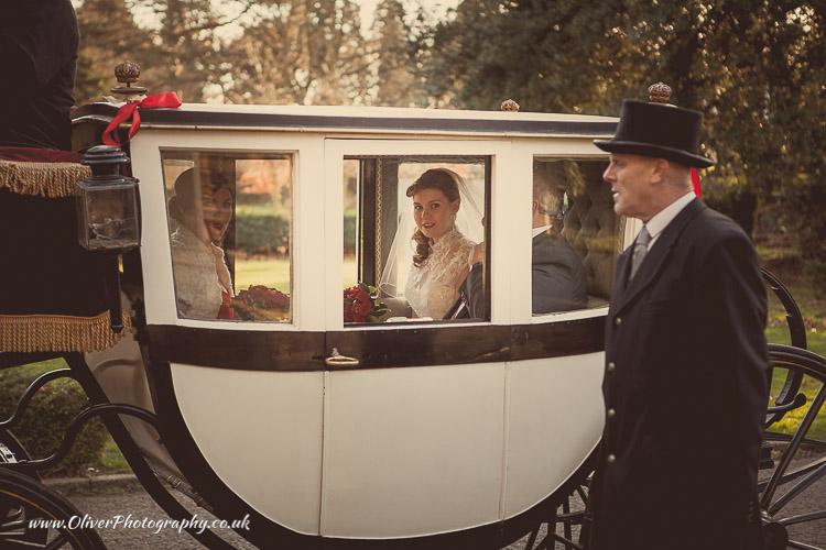 Peterborough wedding carriage
