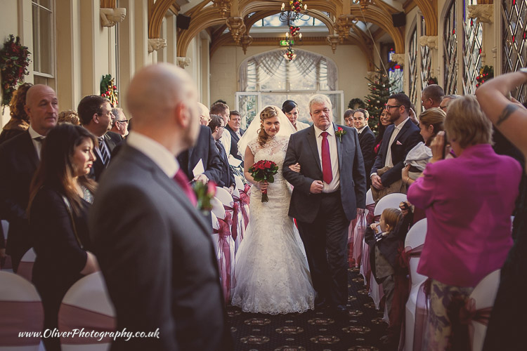 Orton Hall Hotel weddings