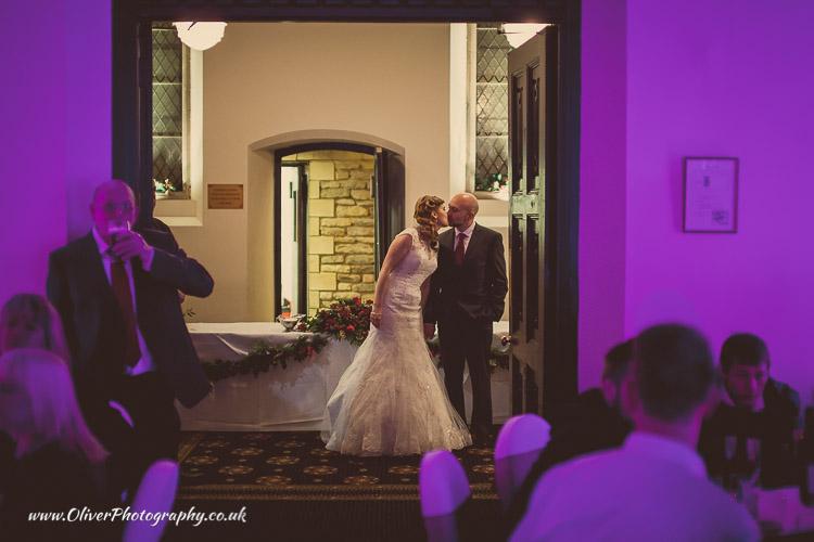 Orton Hall wedding picture