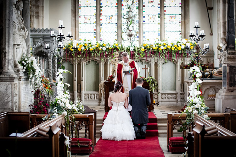 Some of the vicars are very intolerant of photographers
